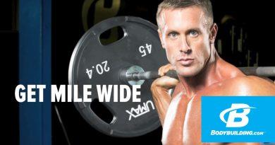 Get Mile Wide - Brandan Fokken's Mile-Wide-Shoulder Workout - Bodybuilding.com
