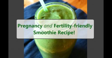 Green Smoothie for TTC and Pregnancy! | What I have for lunch each day