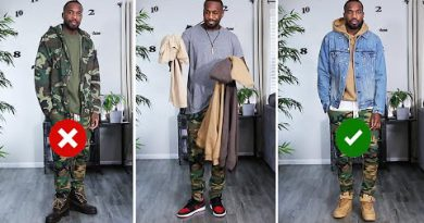 HOW TO STYLE CAMO   Men's Fashion Tips   Outfit Inspiration   I AM RIO P.