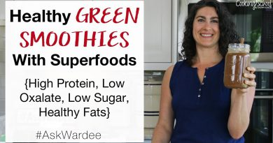 How To Make Healthy Green Smoothies With Superfoods | #AskWardee 132