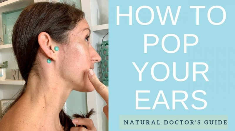 How to Unclog Your Ears with 2 EASY Ear Reflexology Points for Instant Ear Drainage