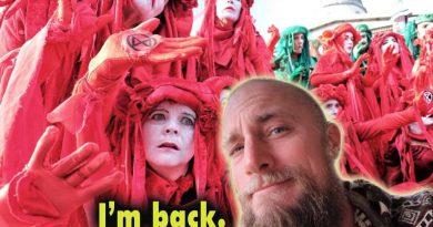 I'm back | Animal Rebellion: fake corporate revolution by Degenerate Vegans | haters & imitators