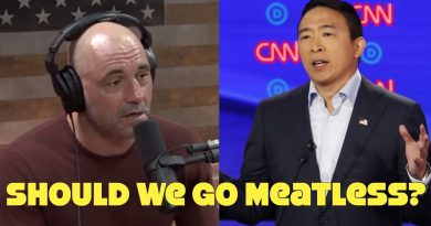 Joe Rogan Debunks Andrew Yang: Go Vegetarian!