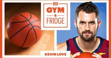 Kevin Love Shows His Home Gym and Fridge | Gym & Fridge | Men's Health