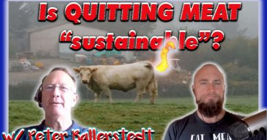"Meat ""sustainability"" myths - are COWS wrecking the planet? w/ Peter Ballerstedt"