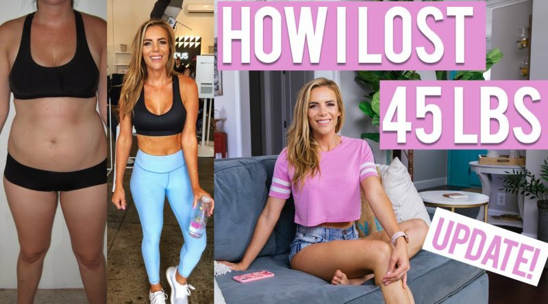 My 45 Pound Weight Loss Story & How I Kept it off (Before & After) + Update!