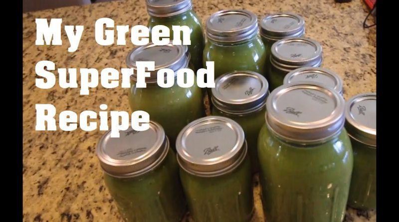 My Green Superfood Smoothie | Weight Loss | Strength Gains