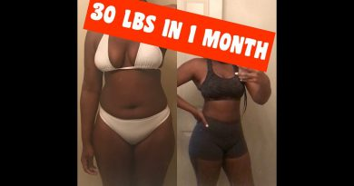 My Weightloss Journey: 30 Lbs in 1 month ‼️