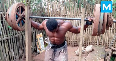No excuses - African Bodybuilders | Muscle Madness