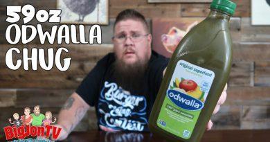 Odwalla Superfood Smoothie Chug || Chug Challenge