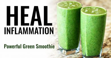 POWERFUL Green Smoothie to Heal Inflammation and Reduce Joint Pain
