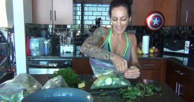 Superfood - Easy Weekly Green Smoothie Set-up & Prep