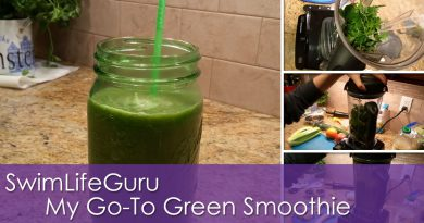 SwimLifeGuru | My Go-To Green Smoothie