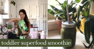 Toddler Superfood Green Smoothie - Recipe & Tips and Tricks