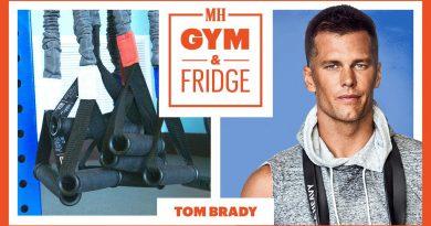 Tom Brady Shows His Gym and Fridge    Gym & Fridge   Men's Health