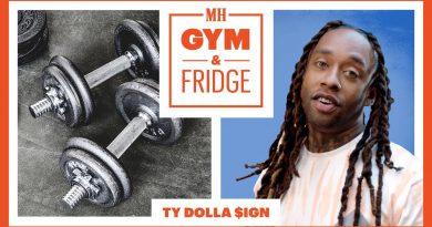 Ty Dolla $ign Shows His Home Fridge & Gym | Gym and Fridge | Men's Health