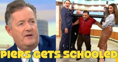 Vegan Strongmen School Piers Morgan. Says He'll Watch Game Changers