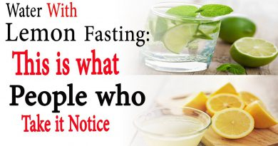 Water with lemon fasting this is what people who take it notice | Natural Health