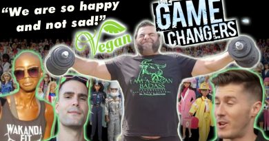 We go w/ VEGANS to see The Game Changers | Nimai Delgado, Patrick Baboumian, Klaus save the planet