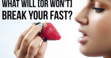 What Breaks a Fast? [intermittent fasting science review]