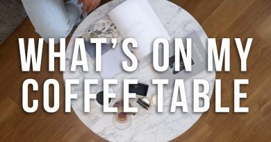 What's On My Coffee Table | Men's Lifestyle