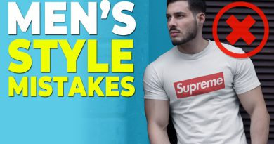 10 Minor Style Mistakes that are MAJOR Problems | Alex Costa