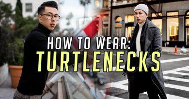 3 Ways to Style TURTLENECKS || Men's Fashion Advice 2018 || Gent's Lounge
