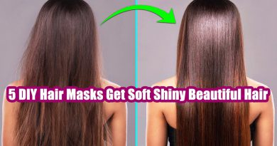 5 Amazing DIY Hair Masks To Get Soft Shiny Beautiful And Healthy Hair