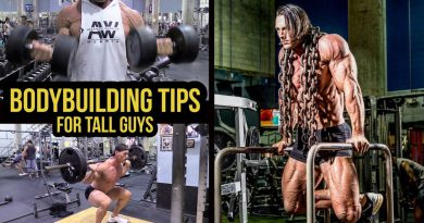 Bodybuilding, Workout & Nutrition Tips for TALL Guys - Add Muscle Faster
