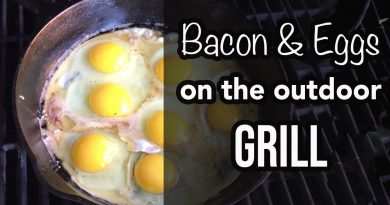Carnivore Breakfast: How to cook bacon and eggs on an outdoor grill