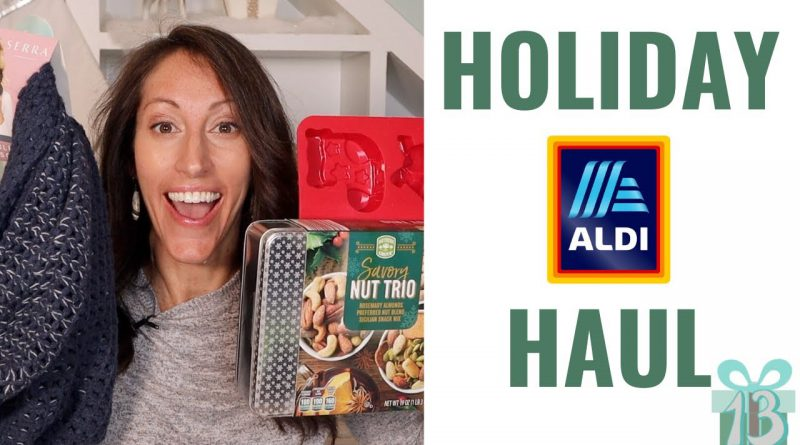December 2019 Aldi Holiday Shopping Haul | Aldi Holiday Gift Guide with MAJOR Aldi FInds for Kids