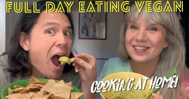 Full Day Eating Vegan: Airfryer Test, Cookbook Recipes, Workout + More