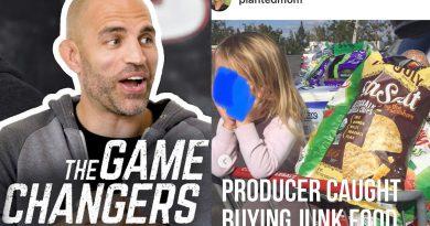 Game Changers' James Wilks & Family Eat Vegan JUNK Food