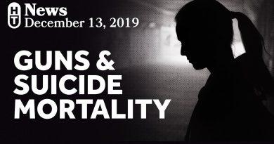 Guns Increase Suicide Mortality
