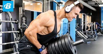 High Volume Bodybuilding Back Workout | Abel Albonetti