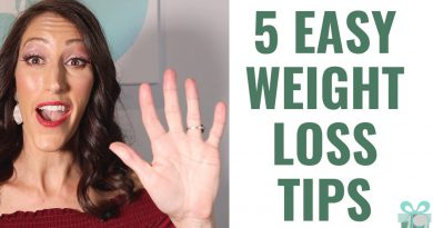 How to Avoid Weight Gain | 5 EASY Weight Loss Tips & Weight Management Techniques
