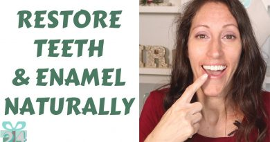How to Restore Tooth Enamel Naturally | Remineralization Tooth Paste Recipe | No More White Spots