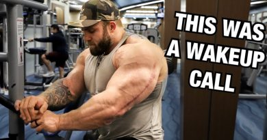 Huge Shoulder Workout With The Biggest Man You've Ever Seen, Iain Valliere