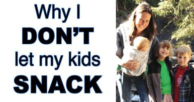 I Don't Let My Kids Snack (and they are healthier and happier because of it)