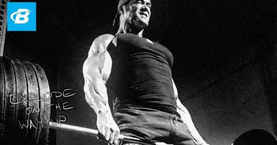 Mike O'Hearn's Back Workout | Power Bodybuilding Training Program