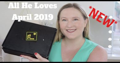 *NEW* All He Loves April 2019 | Men's Lifestyle Subscription Box