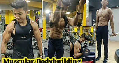 NO EXCUSE :- SMART MUSCULAR BODYBUILDING || HARD GYM WORKOUT .