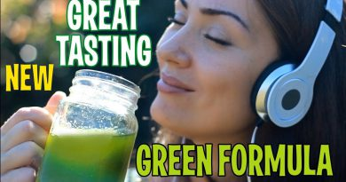 New Great Tasting Green Formula