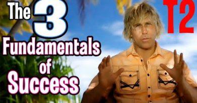 The 3 Fundamentals of Success