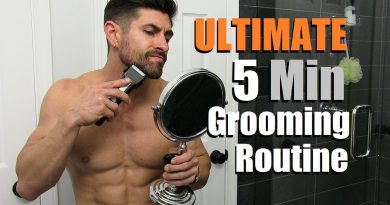 The ULTIMATE 5 Min Men's Grooming Routine | Tips & Tricks To Get Groomed FAST!