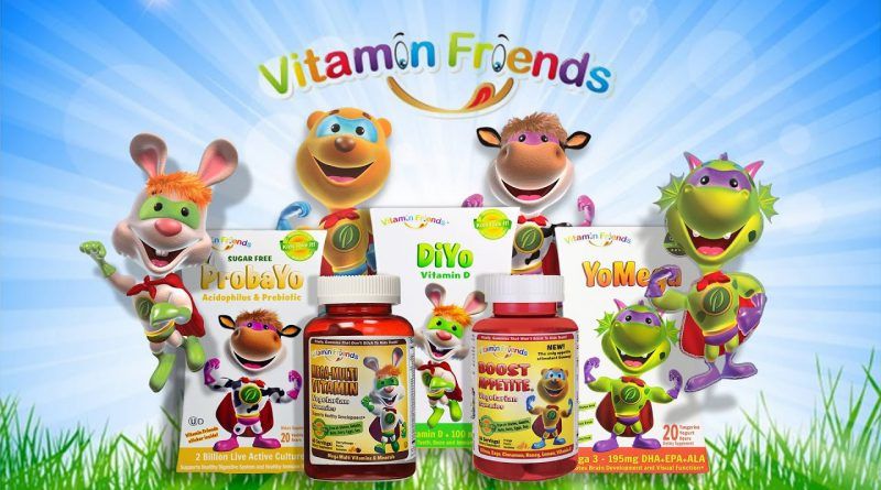 Vitamin Friends - All Natural Gummy Vitamins and Supplements For Children