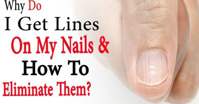 Why do I get lines on my nails and how to eliminate them | Natural Health