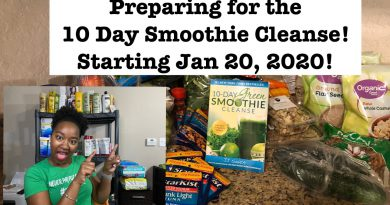 10 Day Green Smoothie Cleanse Prep| Plan to Lose 10 Pounds| Krys the Maximizer