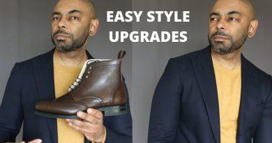 10 Easy Men's Style Upgrades