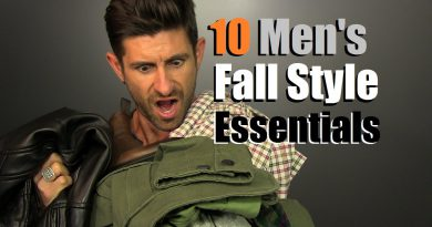 10 Men's Fall Style Essentials | Men's Wardrobe Must Haves For The Fall